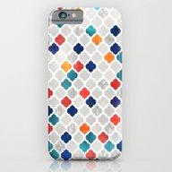 Sea & Spice Moroccan Pat… iPhone 6 Slim Case
