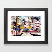 My life at 30 Framed Art Print