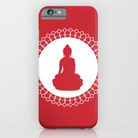 iPhone & iPod Case featuring Buddha by Dambar Thapa