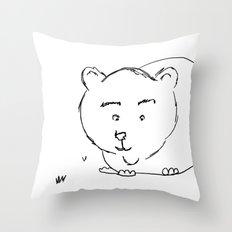 Bear McBear Throw Pillow