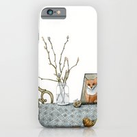 iPhone & iPod Case featuring coffee and croissants by Yuliya
