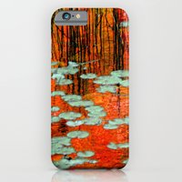 iPhone & iPod Case featuring Autumn Reflection by TDSWHITE