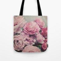 Quiet Ranunculus Tote Bag