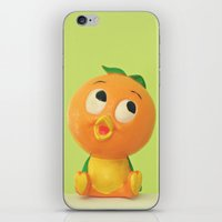 Orange Bird iPhone & iPod Skin