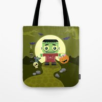 Frankie Goes To Hallowee… Tote Bag