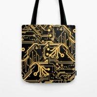 Techno Organic  Tote Bag