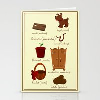 Colors: Brown (Los Color… Stationery Cards