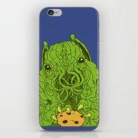 cthulhu wants a cookie iPhone & iPod Skin