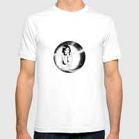 The Girl From Outer Spac… Mens Fitted Tee White SMALL