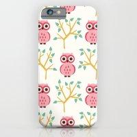 iPhone & iPod Case featuring Owl Grove by Eine Kleine Design Studio