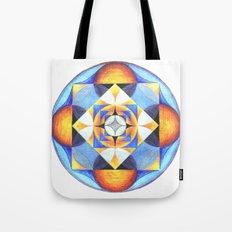 Solar Kaleidoscope (ANALOG zine) Tote Bag