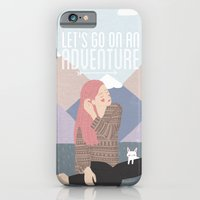 Let's Go On An Adventure iPhone 6 Slim Case