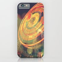 iPhone & iPod Case featuring The Ferris Wheel II by ISIK MATER