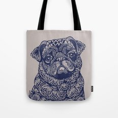 MANDALA OF PUG Tote Bag