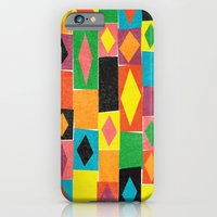 iPhone & iPod Case featuring Elementary Diamonds. by Nick Nelson
