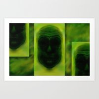 headz Art Print