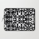 Black and White Square 3  Laptop Sleeve