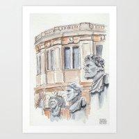 Oxford: Sheldonian Theatre Art Print