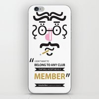 Type Faces No.1 Groucho … iPhone & iPod Skin