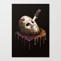 Friday The 13th Canvas Print