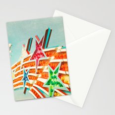Shooting Stars Stationery Cards