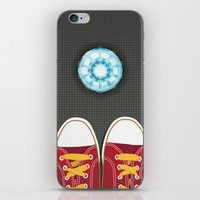 Casual Friday at Stark Industries iPhone & iPod Skin