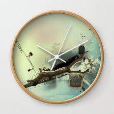 roma parco Wall Clock