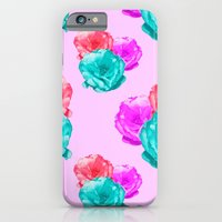 iPhone & iPod Case featuring Peonies by Aneela Rashid