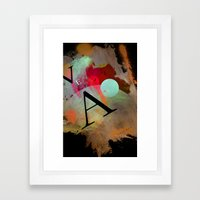 VEA 18 Framed Art Print