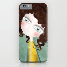 Sage Green Watercolor Art Slim Case iPhone 6s