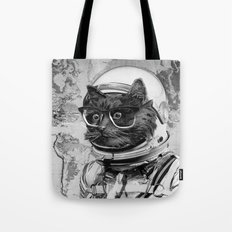 Space Kitten Tote Bag