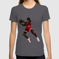 #23 Womens Fitted Tee Asphalt SMALL