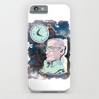 iPhone & iPod Case featuring Stephen Hawking by Dushan Milic