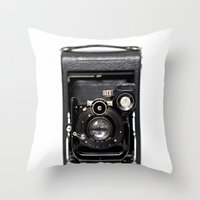 My Favorite Camera Throw Pillow