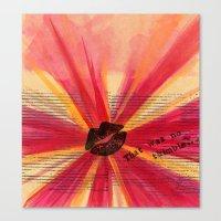 Valentine Thimble Canvas Print