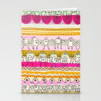 Paralels murs Stationery Cards