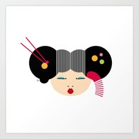 japanese Art Prints featuring Japanese by Shu | Formanuova