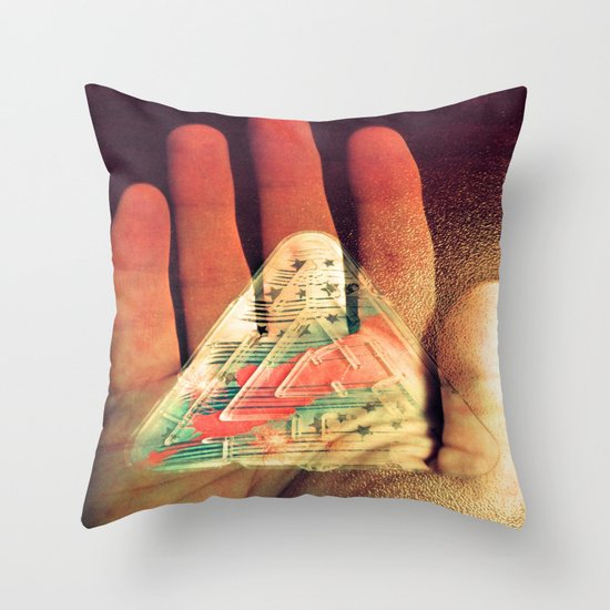 What You Do Is Imprinted On You Throw Pillow