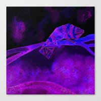 Canvas Print featuring Chameleon 3 by eefak