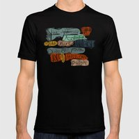 Love & Affection Mens Fitted Tee Black SMALL