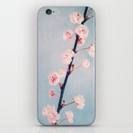 iPhone & iPod Skin featuring White Spring by Claudia Drossert