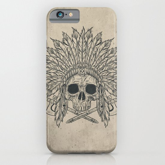 The Dead Chief iPhone & iPod Case