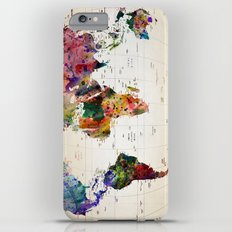 map iPhone 6s Plus Slim Case