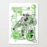 Autobot DJ Canvas Print