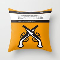 No022 MY Paul Clifford Book Icon poster Throw Pillow