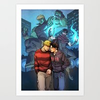 Theodore And William 13 Art Print