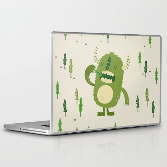 the tree muncher Laptop & iPad Skin