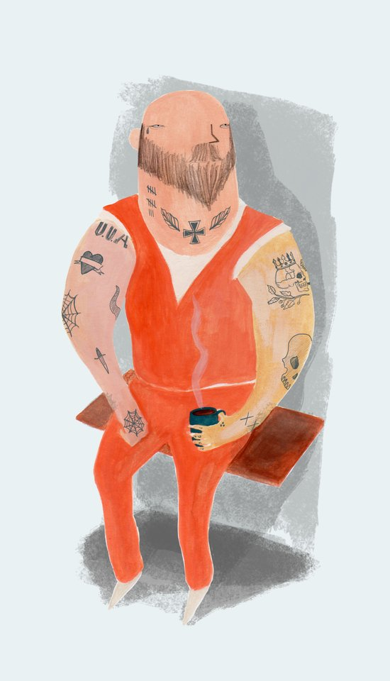 Convict Canvas Print