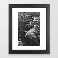Rushing Waters  Framed Art Print