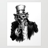 Uncle Sam Art Print